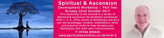Spiritual & ascension development workshop - Part 2
