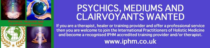 Are you a Therapist, Training Provider, Counsellor and offer any other holistic or alternative service?