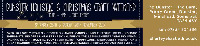 Dunster Holistic Weekend 2017