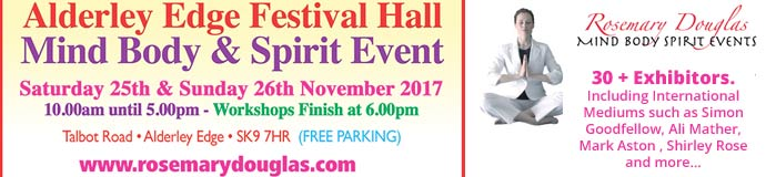 Alderley Edge - Mind Body Spirit Events ( Free Workshops)