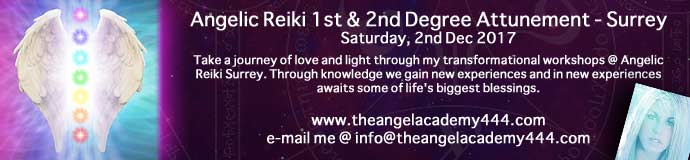 Angelic Reiki 1st & 2nd degree