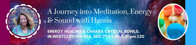 Healing Evening - Visualisation, Energy Work & Sound
