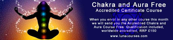 Chakra and Aura Free Accredited Certificate Course