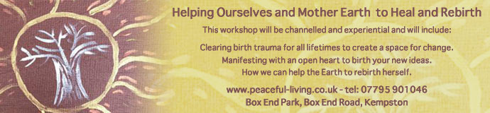 Helping Ourselves and Mother Earth to Heal and Rebirth