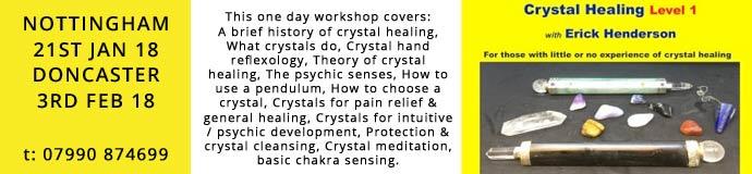 Crystal Healing Beginners Workshop