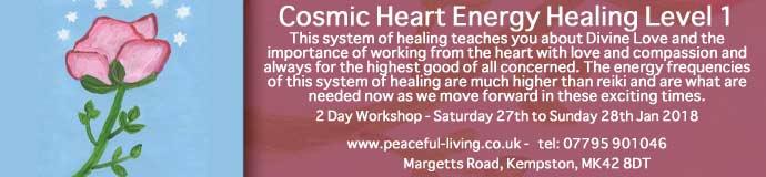 Cosmic Heart Energy Healing  Level 1