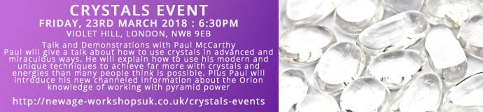 Crystals Event