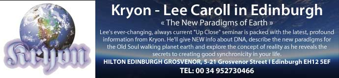 Kryon -Lee Caroll in Edinburgh