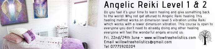 Angelic Reiki Level 1 & 2