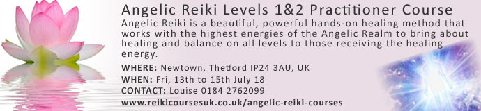 Angelic Reiki Levels 1&2 Practitioner Course