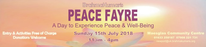 Peace Fayre - A Day to Experience Peace & Well-Being