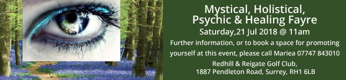 Mystical, Holistical, Psychic & Healing Fayre