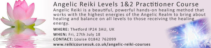 Angelic Reiki Practitioner 1&2 Course