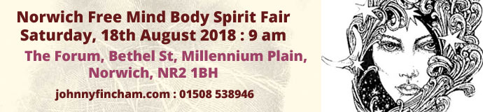 Norwich Free Mind Body Spirit Fair