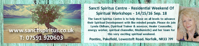 Sancti Spiritus Centre - Residential Weekend Of Spiritual Workshops