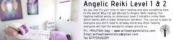 Angelic Reiki Level 1-2