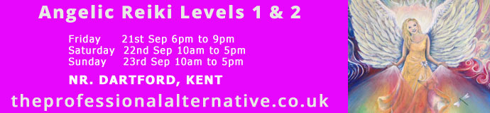 Angelic Reiki Levels 1 & 2 Dartford, Kent