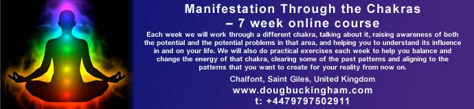 Manifestation Through the Chakras – 7 week online course