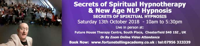 Secrets of Spiritual Hypnotherapy & New Age NLP Hypnosis