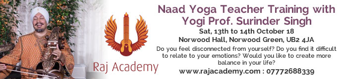 Naad Yoga Teacher Training with Yogi Prof. Surinder Singh