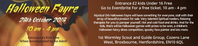 Mystical Orb Halloween Fayre