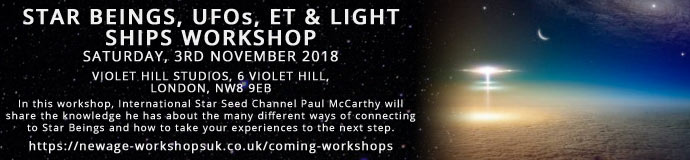 Star Beings, UFOs, ETs & Light Ships Workshop