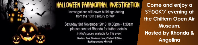 Halloween Paranormal Investigation