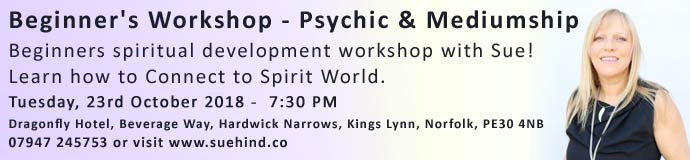 Beginner's Workshop - Psychic & Mediumship