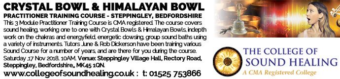 Crystal & Himalayan Bowl Practitioner Training