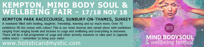 Kempton MBS & Wellbeing Show - 17th & 18th November 18