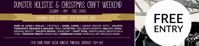 Dunster Holistic Weekend 2018