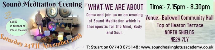 Sound Meditation Evening - North Shields