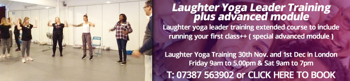 Laughter Yoga Leader Training plus advanced module