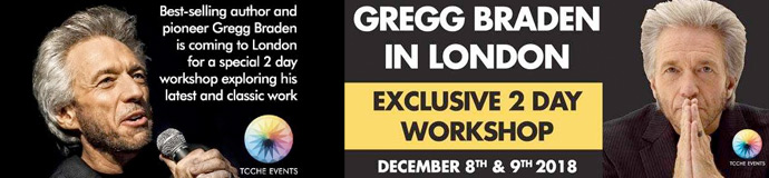 Gregg Braden in London - Exclusive 2 Day Workhop - December 8th & 9th 2018
