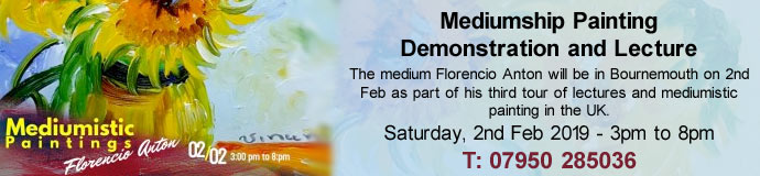 Mediumship Painting Demonstration and Lecture with Florencio Anton