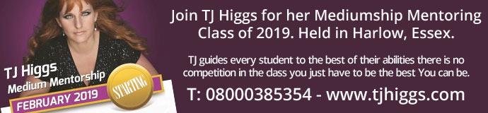 TJ Higgs Mediumship Mentorship
