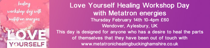 Love Yourself Healing Workshop Day with Metatron energies