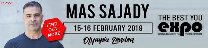Mas Sajady at The Best You Expo, London