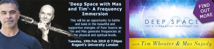 'Deep Space with Mas and Tim'- A Frequency Immersion