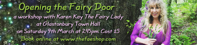 Opening the Fairy Door workshop with Karen Kay