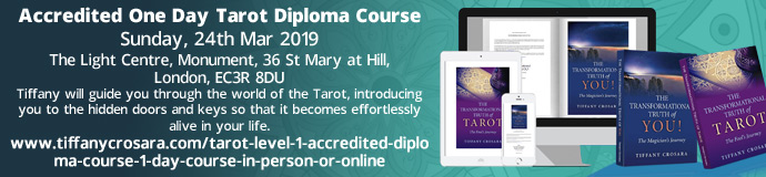 Accredited One Day Tarot Diploma.
