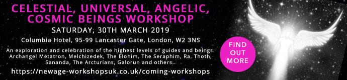 Celestial, Universal, Angelic, Cosmic Beings Workshop