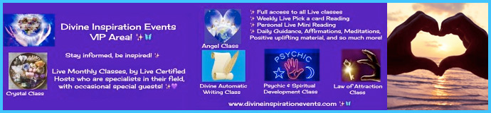 Divine Inspiration Events VIP Area Launch