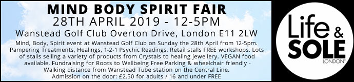 Mind Body Spirit Fair 28th April 2019