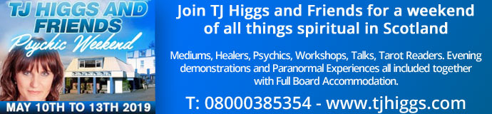 TJ Higgs & Friends Scotland - Psychic Weekend