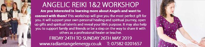 Angelic Reiki 1&2 Workshop
