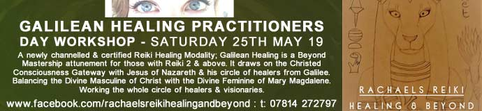 Galilean Healing Practitioners Day Workshop - Certified