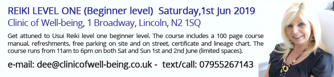 Reiki level one (beginner level)