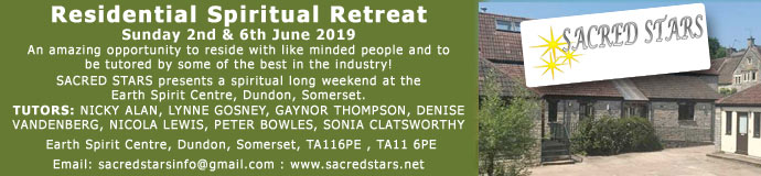 Walking the Light – Residential Spiritual Retreat - With Nicky Alan