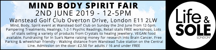 Mind Body Spirit Fair 2nd June 2019